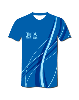 2020 #RunLimassol Pro Technical T-Shirt - Evening Blue