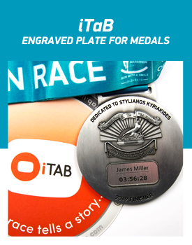iTaB - ENGRAVED PLATE FOR MEDALS