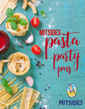 MITSIDES PASTA PARTY PASS
