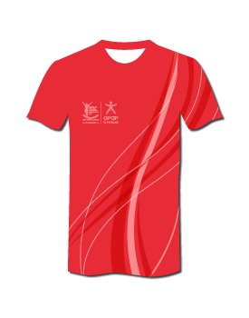 2020 #RunLimassol Pro Technical T-Shirt - Sunrise Pink